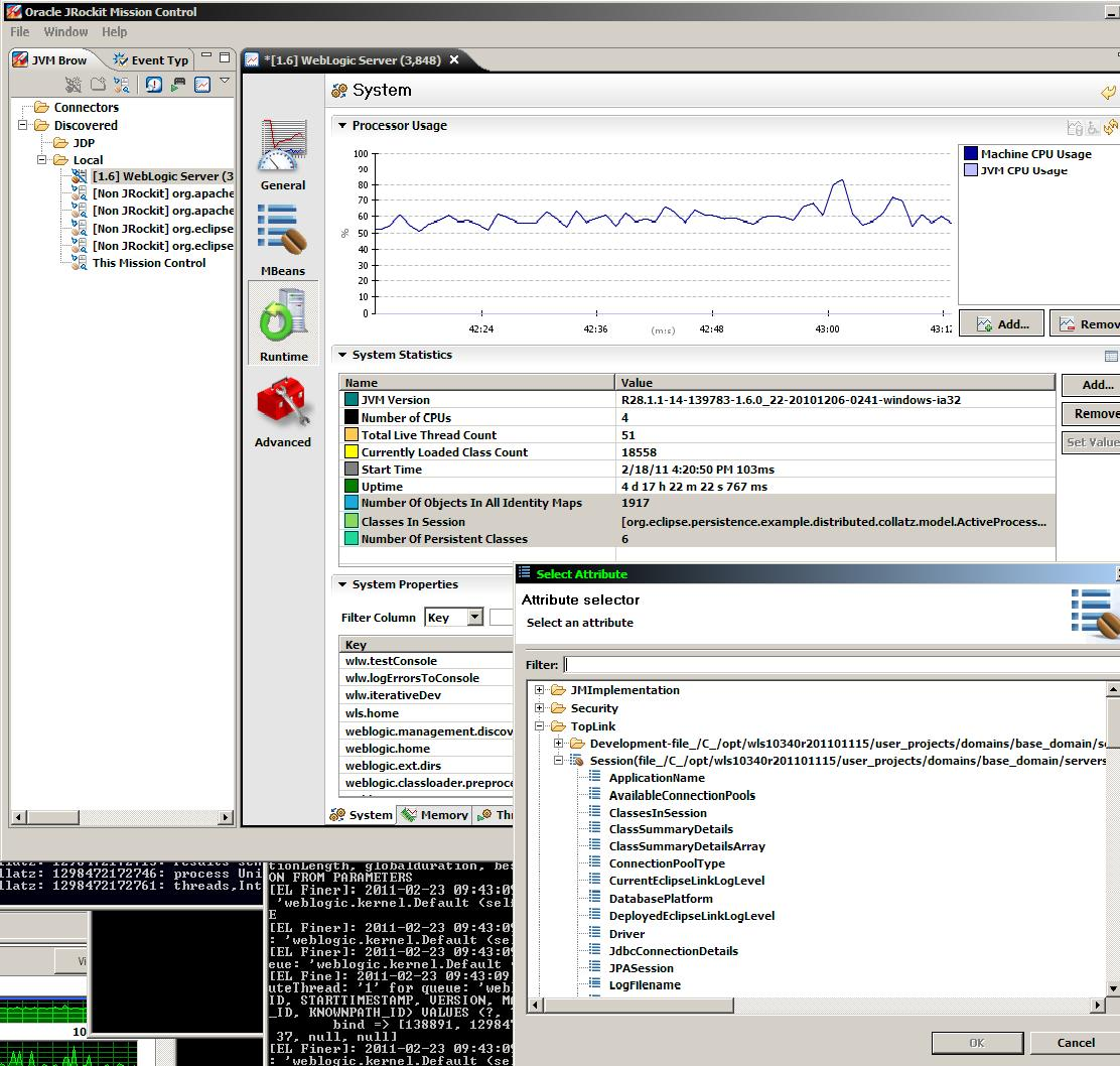 Jrockit mission control runtime mbean attribute tracking for system stats.JPG