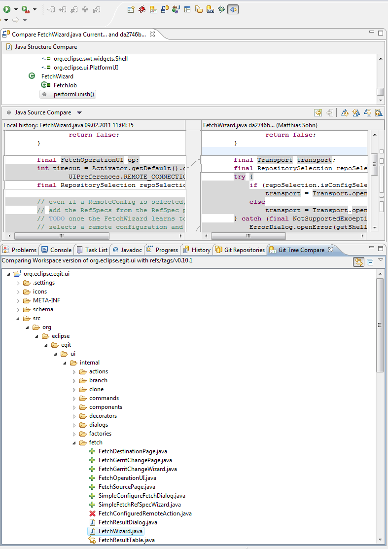 Egit-0.11-GitTreeCompareView.png