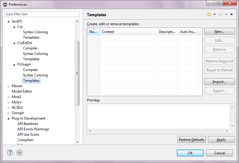 Preferences JavaFX FXGraph Templates.png