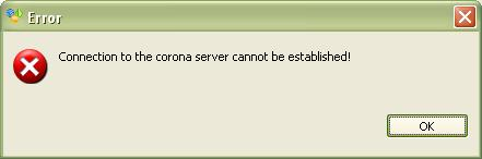 Image:Corona_server_error_preferences.JPG