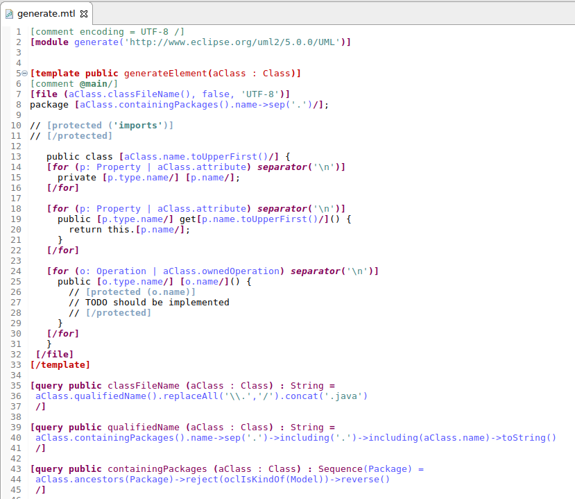 Getting started acceleo usercode 1 editor.png