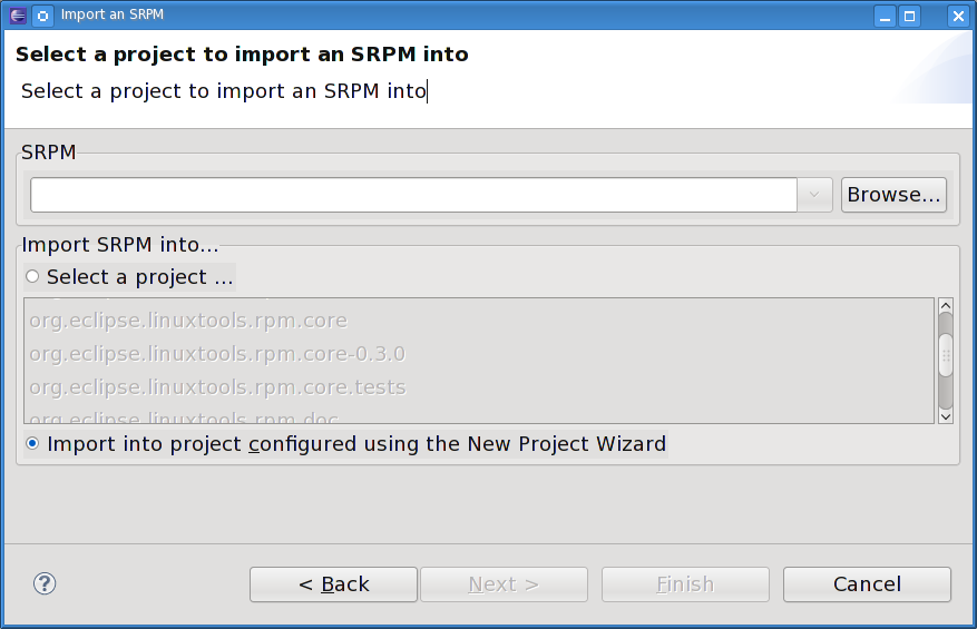 Specfile import select srpm.png