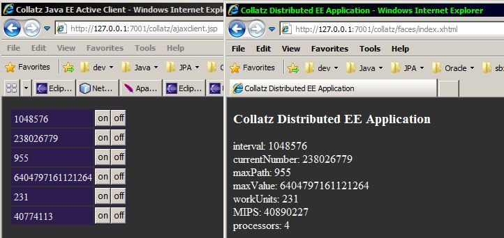 Collatz ajax and JSF2 xhtml client cap.JPG