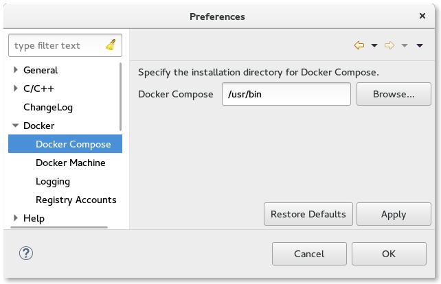 LinuxToolsDockerPreferencesDockerCompose.png