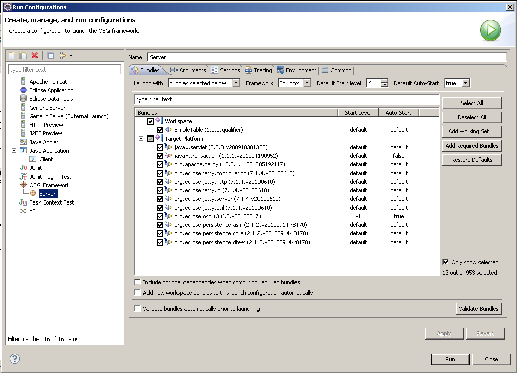 EclipseLink DBWS with OSGi NewLaunch.png