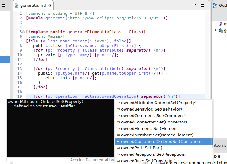 how to write javadoc comments in eclipse