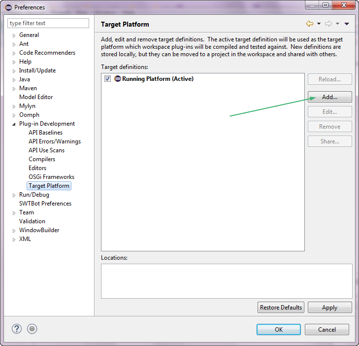 Preferences Plug-in Development Target Platform Add.png