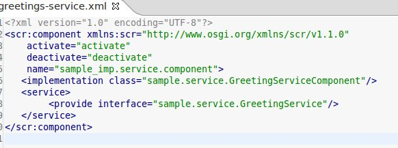 Your greetings-service.xml should looks like this now