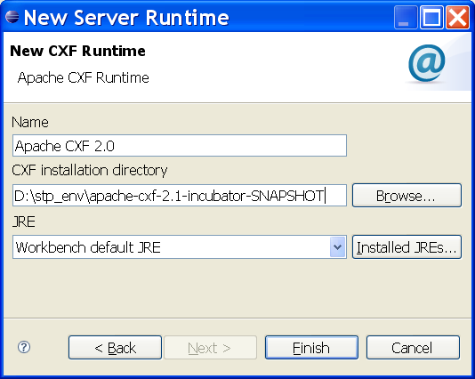 Create cxf runtime.PNG