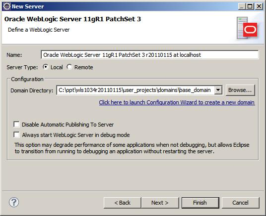 Eclipse weblogic server screen2.jpg