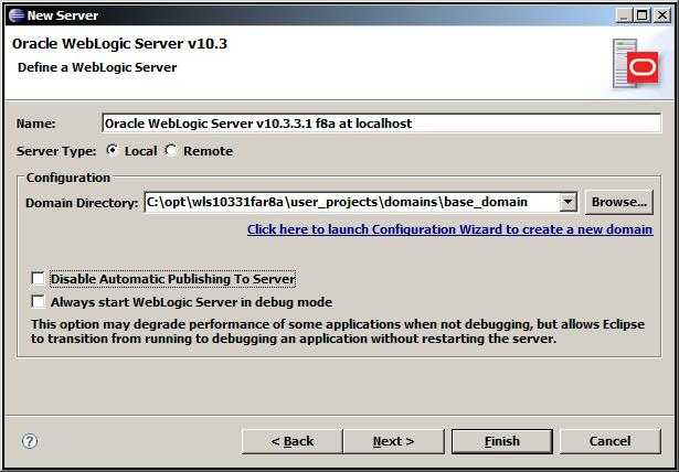 Eclipse weblogic server 103 screen3 domain.jpg