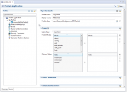Sapphire adopters liferay ide portlet config editor.png