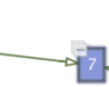 Hover handle integrated in GEF4 Zest Graph example