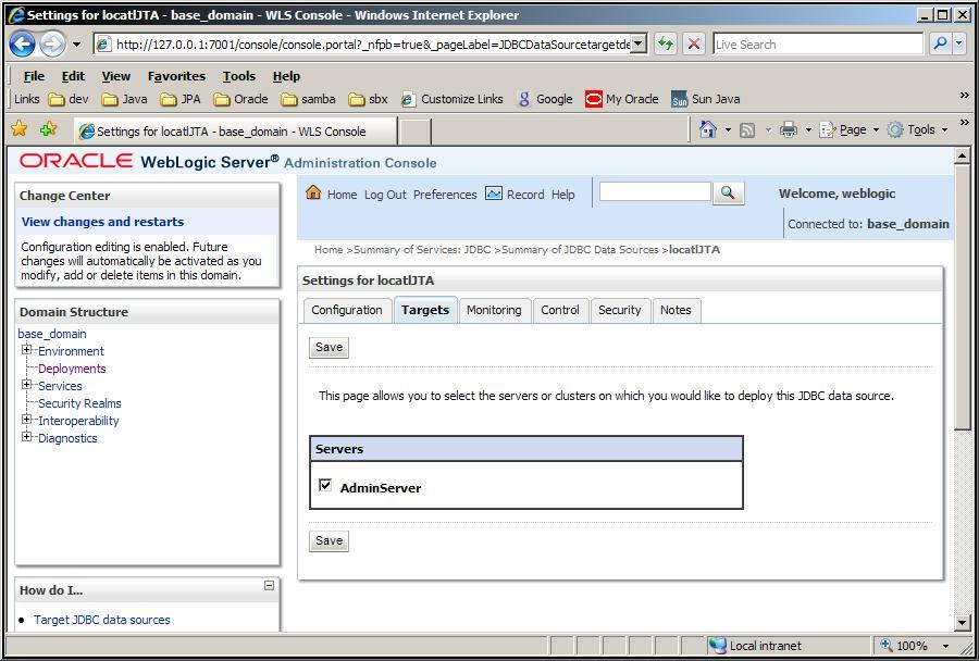 Eclipselink/examples/jpa/weblogic web tutorial eclipsepedia.