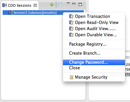 how to change git password in eclipse