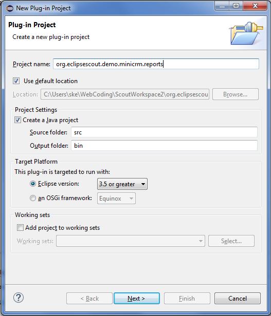 Scout/Tutorial/3.9/JasperReports Integration