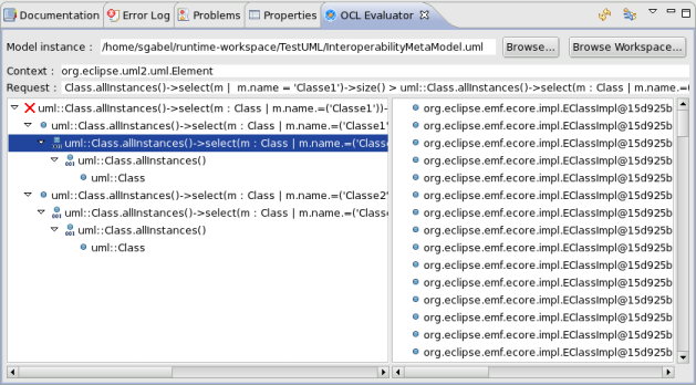 MDT OCL/Ocl Checker - Eclipsepedia