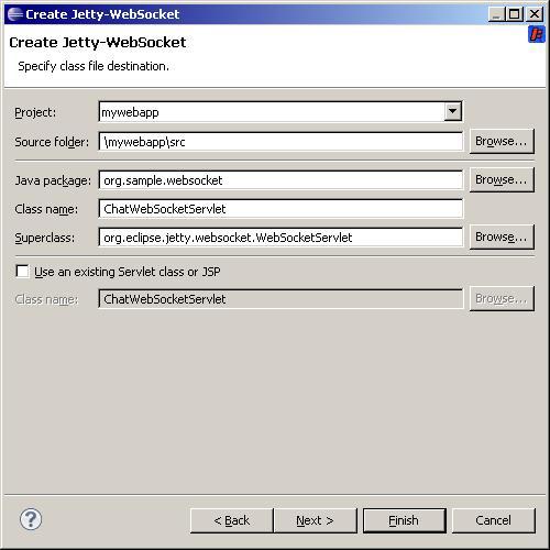 Jetty WTP Plugin/Jetty WTP Websocket Wizard - Eclipsepedia