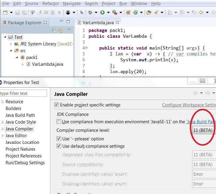 Java11/Examples - Eclipsepedia