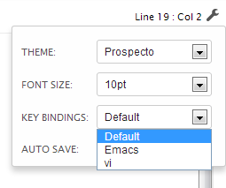 local editor settings