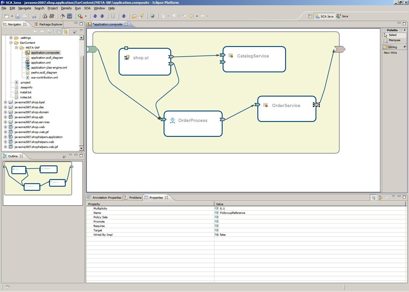 Sca Composite Designer Proposal Eclipsepedia 08 Eclipse Wiring Diagram Promotedcomponentserviceandreference