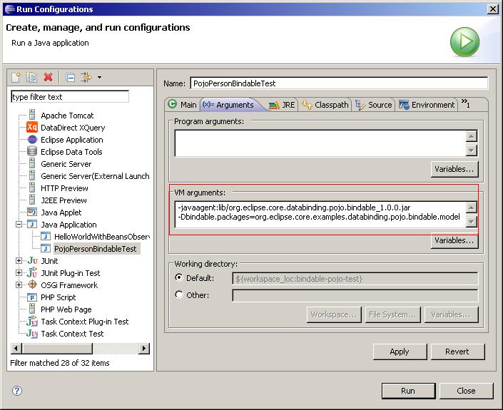 JFace Data Binding/PojoBindable - Eclipsepedia