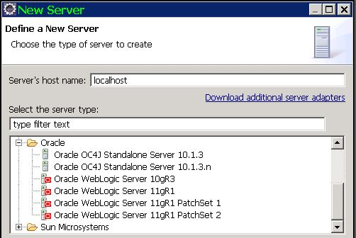 Oracle weblogic 11g server plugins.JPG