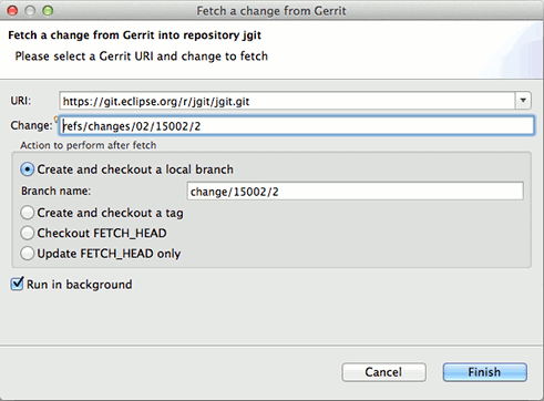 how to download code from github in eclipse