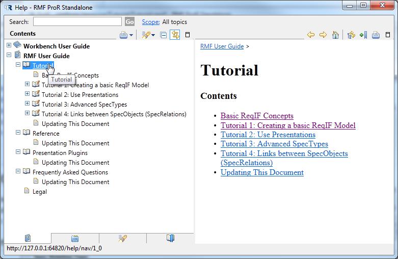 rmf contributor guide documentation guideline eclipsepedia rh wiki eclipse org Eclipse IDE Eclipse Oxygen IDE Workbench