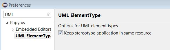Stereotype Application With Element