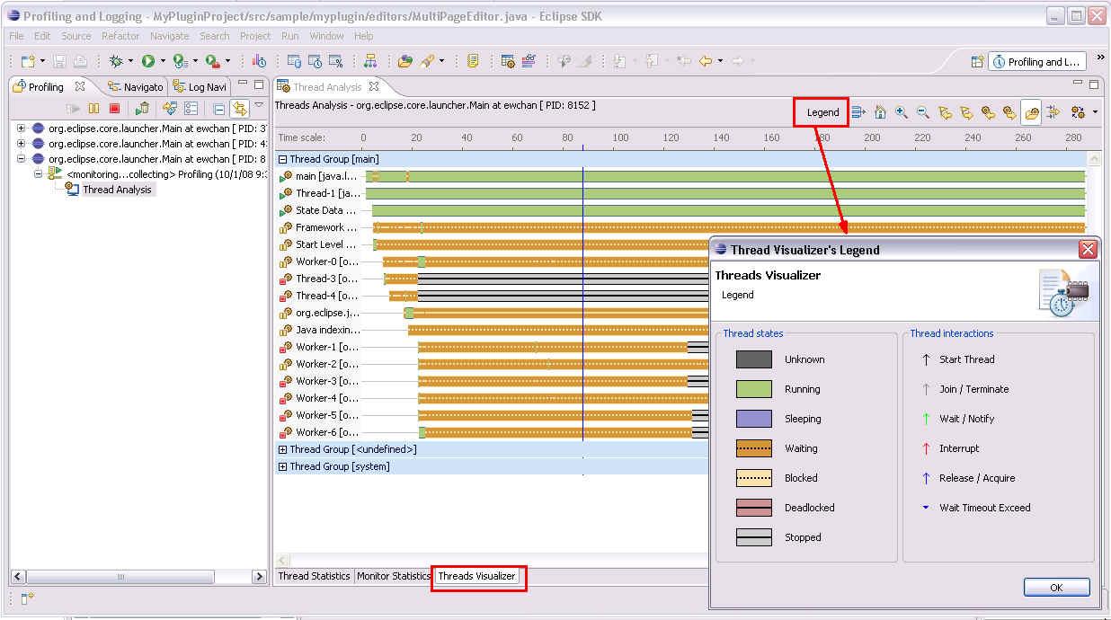 how to analyse thread dump in weblogic