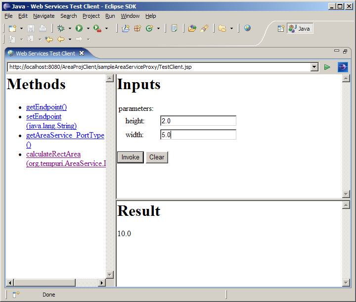 java write world-wide-web company client