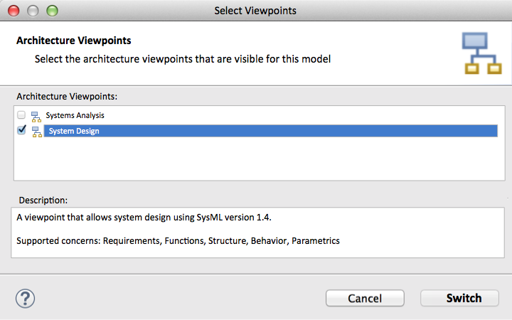 The Select Viewpoints dialog box.png