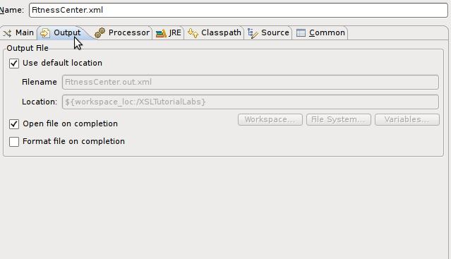 XSLT Project/UserGuide/Launching - Eclipsepedia