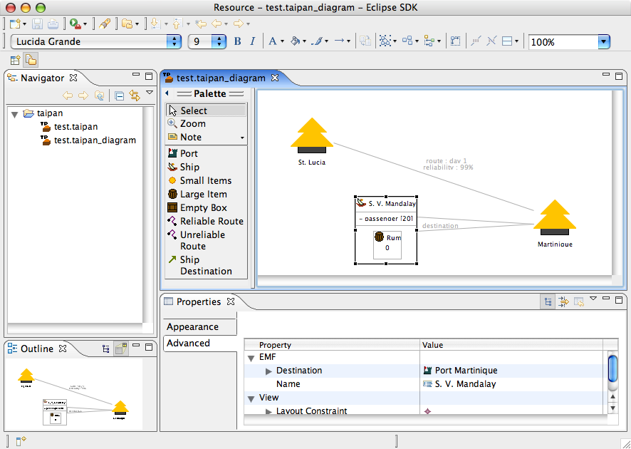 Eclipse Development using the Graphical Editing Framework and the Eclipse Modeling Framework