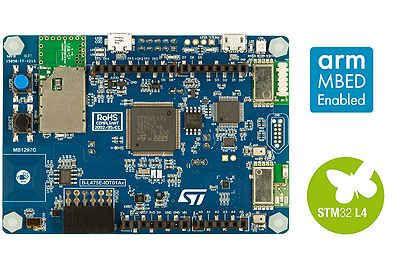 STM32L4 Discovery kit IoT node, low-power wireless, BLE, NFC, SubGHz, Wi-Fi, Arduino shield socket