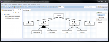 EMF Feature    Model   Feature    Diagram    Editor  Eclipsepedia