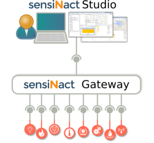 Overview of the sensiNact ecosystem