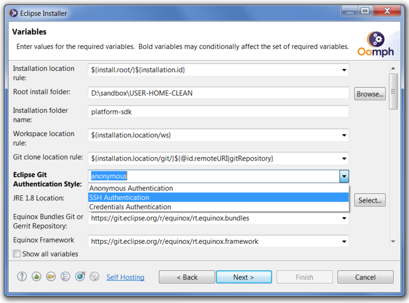 Oomph Installer Advanced Platform SDK Variables With Style Prompt.png
